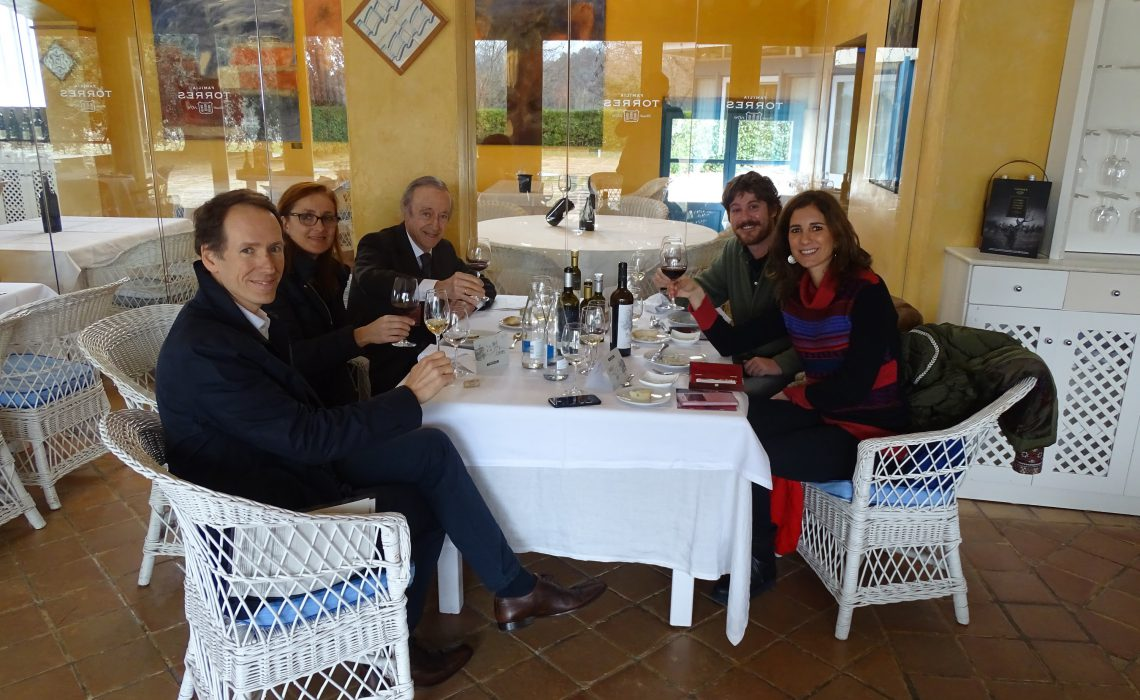 Visita Bodegas Torres: «Familiar, tradicional y pioneros»