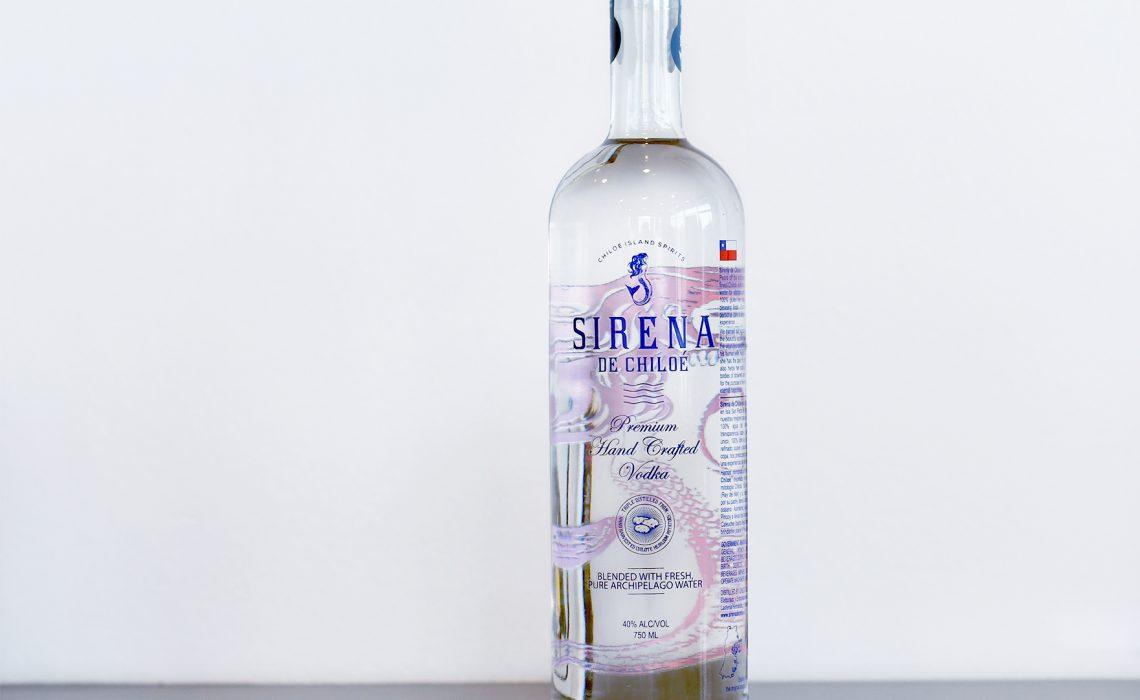 Primer vodka chileno chilote hecho con papa y agua de vertiente