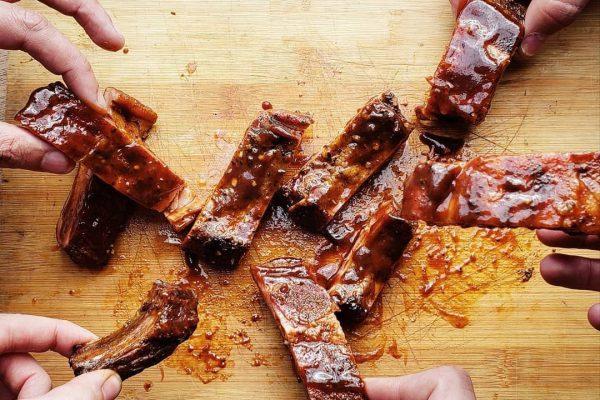 carne ahumada estilo gringo
