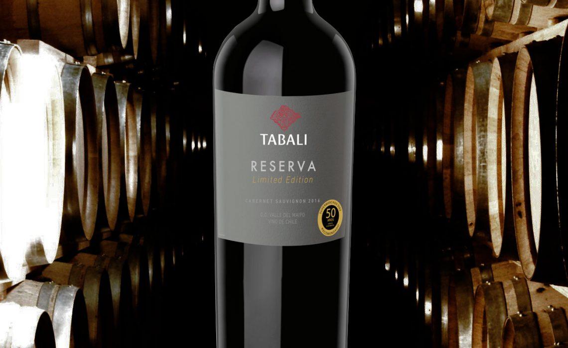 Viña Tabali produce un vino Reserva especialmente para SUPERMERCADO DIEZ