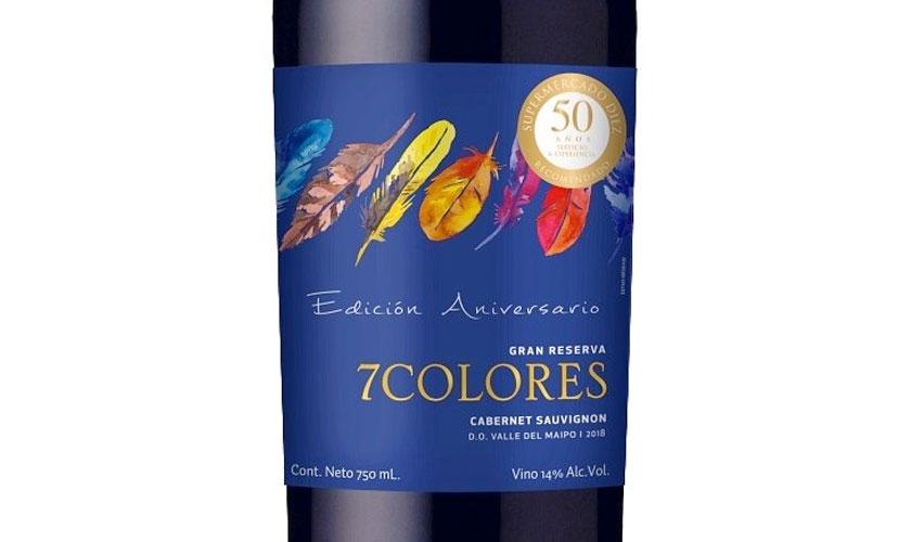 Viña 7Colores crea vino especial para S. Diez