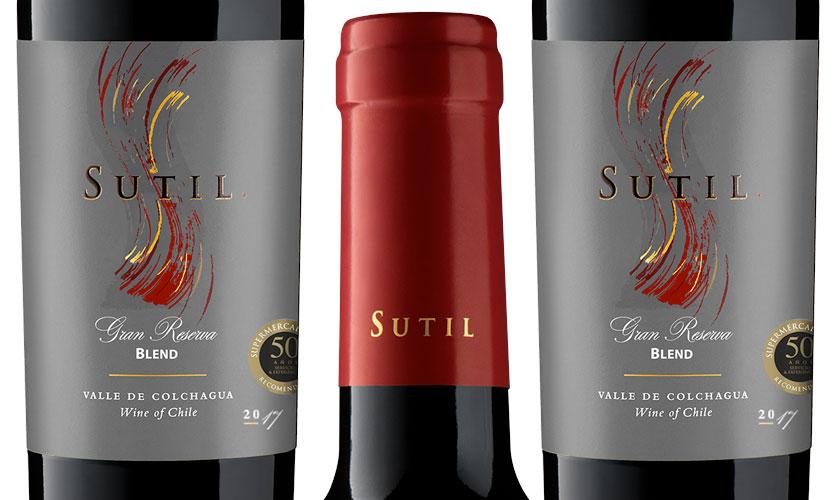 Viña Sutil crea un red blend Gran reserva para Supermercado Diez