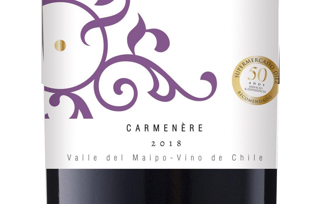 Viña Chocalán crea dos nuevos vinos Inspira Reserva Especial especialmente para SUPERMERCADO DIEZ