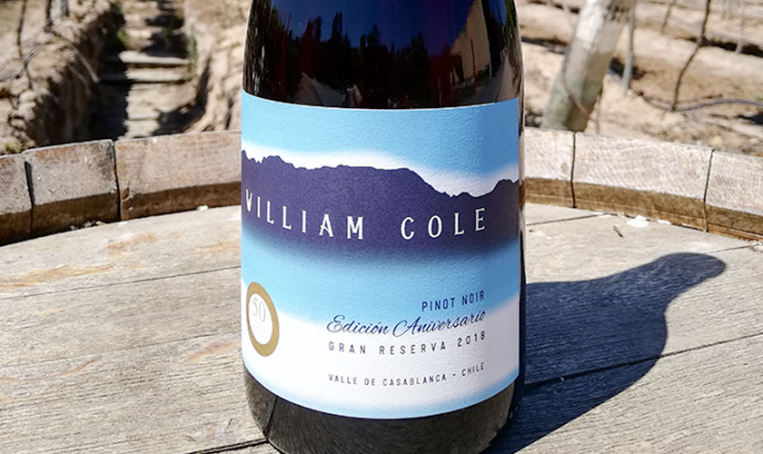 Viña William Cole crea un vino Gran Reserva especialmente para SUPERMERCADO DIEZ
