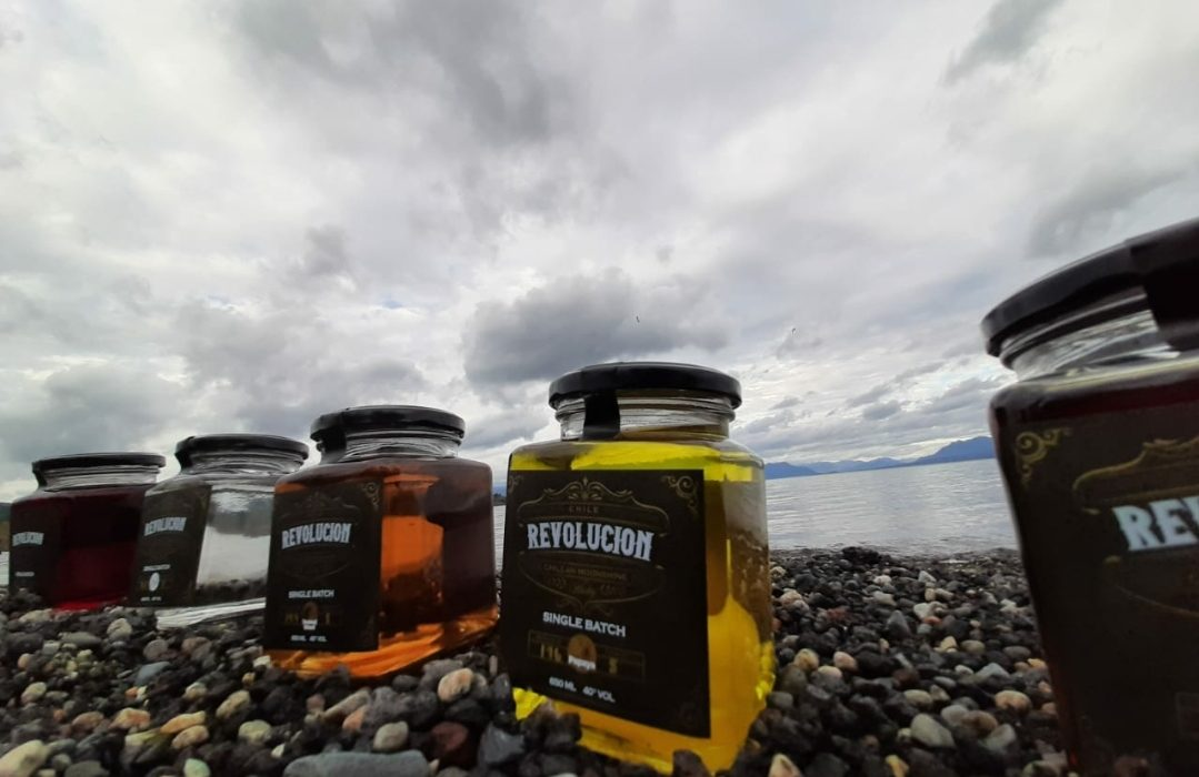 """""""Revolución Chilean Moonshine"""", un destilado 100% sustentable."""