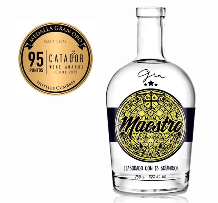 Nuevo Gin chileno aterriza en los locales de Supermercado Diez