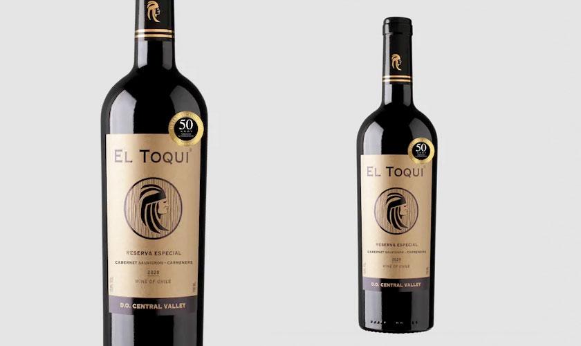 Viña Casa del Toqui crea un nuevo vino Reserva Especial para SUPERMERCADO DIEZ