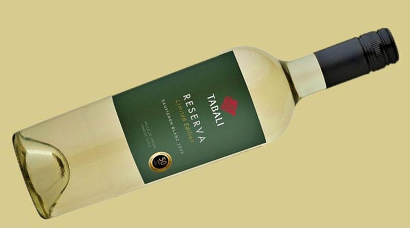 Tabalí etiqueta nuevo Sauvignon Blanc para S. Diez