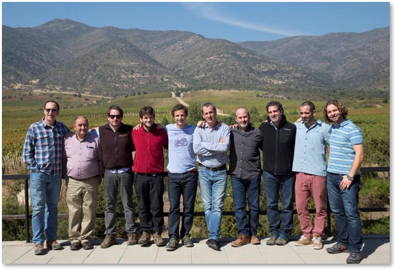 Top Blend: Un vino que integra 12 viñas chilenas