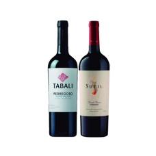 Pack 6 botellas Tabali Gran Reserva Cabernet Sauvignon + 6 botellas Sutil Gran Reserva Carmenere