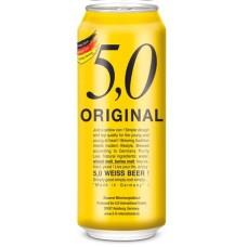 24 Cervezas Alemanas 5.0 Weissbier, 500cc ($624 c/u)