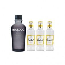 Gin Bulldog + 3 Tónicas Britvic