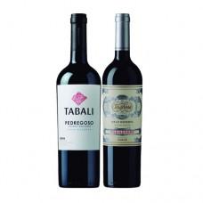 Pack 6 Gran Reserva Tabali Pedregoso Cabernet Sauvignon + 6 Gran Reserva Terranoble Carmenere ( $4.990 c/u)