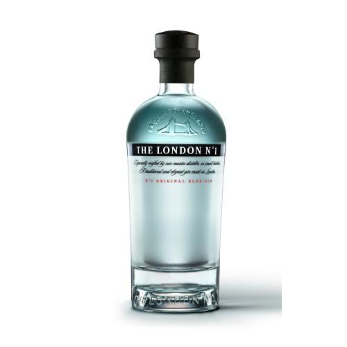 Gin London N°1, 700cc + 3 Botellas agua tonica Britvic 200cc