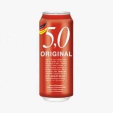 24 Cervezas Alemanas 5.0 Original, 500cc ($666 c/u)