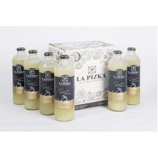 Caja 6 unidades La Pizka Limón Sutil, Pisco Sour Premium ($8.900 c/u)