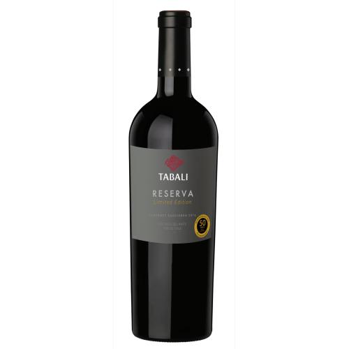 Caja de 6 unidades Tabali Reserva Cabernet Sauvignon Exclusivo ($3.990 c/u)
