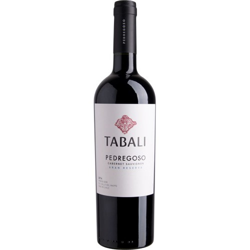 Caja de 6 unidades Tabali Gran Reserva Pedregoso Cabernet Sauvignon ($4.990 c/u)