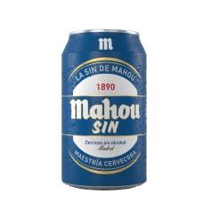 Caja de 6 unidades MAHOU SIN/ALCOHOL 330ML ($690 c/u)