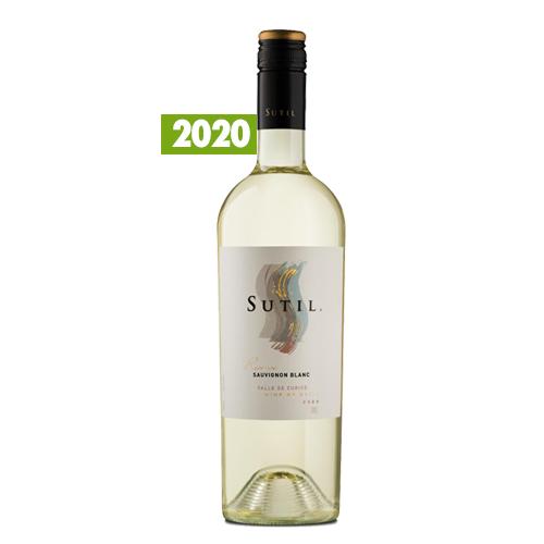 Caja de 6 unidades Sutil Reserva Sauvignon Blanc 2020 ($3.990 c/u)