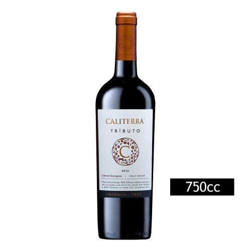 Caja de 6 unidades Caliterra Tributo Cabernet Sauvignon ($4.990 c/u)