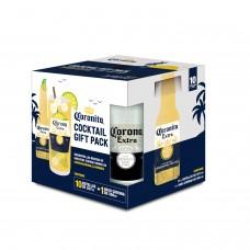 Pack 10 Cervezas Coronita + Espectacular vaso de 500cc