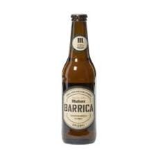 Pack 6 unidades Cerveza Mahou Barrica ($1.290 c/u)