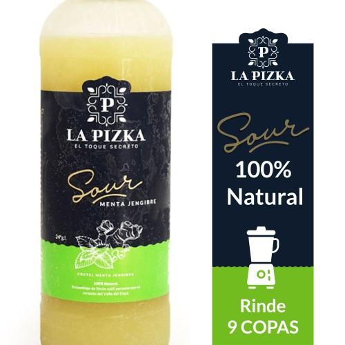 Pisco Sour Premium La Pizka 1.000cc MENTA/JENJIBRE
