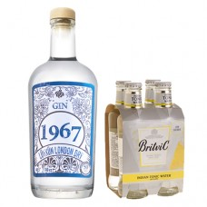 Pack Gin 1967 + tónicas de regalo