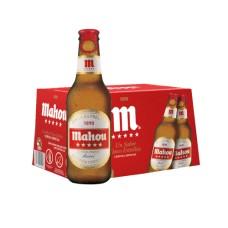Caja de 24 unidades Cerveza Mahou 250cc (495 c/u)