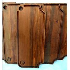 Tabla rústica de madera 60x25 cm