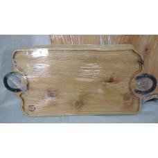 Tabla rústica de madera 85x40 cm aprox.