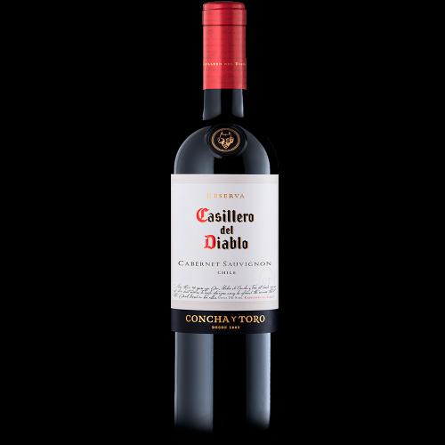 Caja 6 unidades Casillero del Diablo Cabernet Sauvignon ($3.990 c/u)