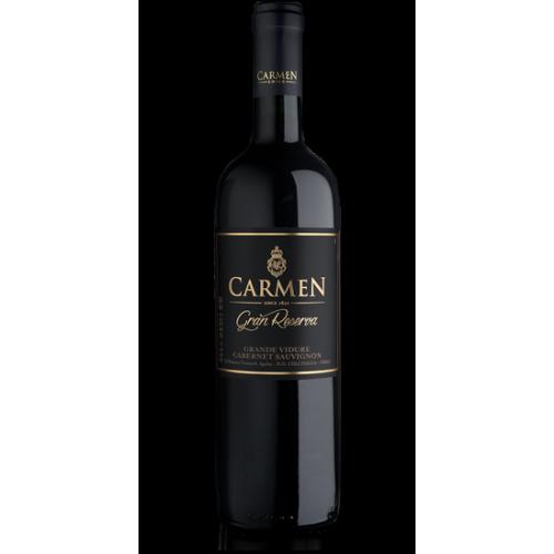Caja 6 unidades Carmen Gran Reserva Grande Vidure/Cabernet Sauvignon ($5.490 c/u)
