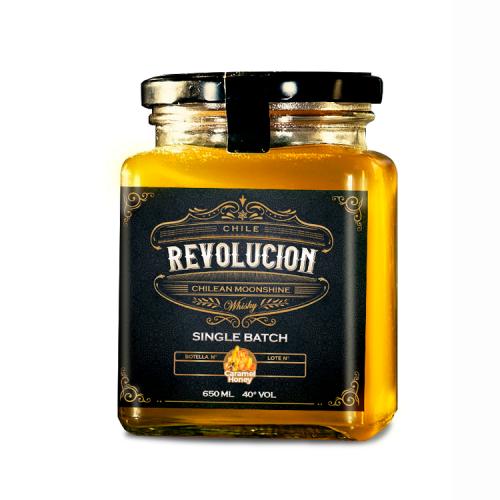 Whisky Revolución Caramel Honey