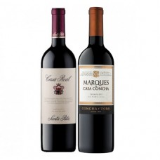 Pack 6 botellas Casa Real Cabernet Sauvignon + 6 Marqués Cabernet Sauvignon ($7.490 c/u)