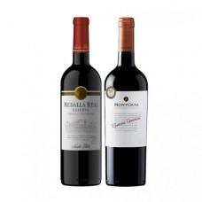 Pack 6 botellas Medalla Real Cabernet Sauvignon + 6 MontGras Reserva Especial Cabernet Sauvignon ($2.990 c/u)