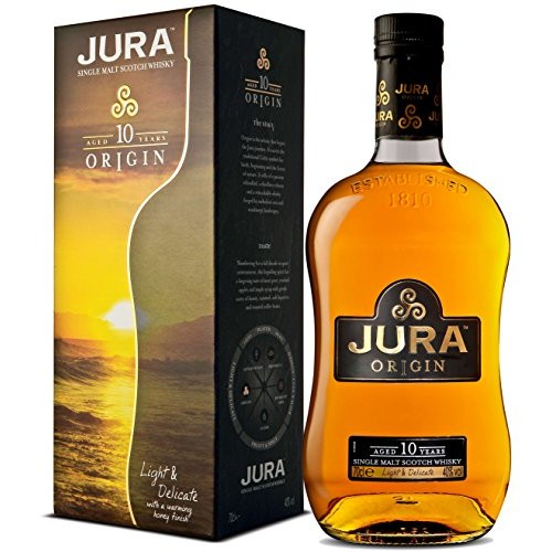 Whisky Single Malt, Jura 10 años, 700 cc.