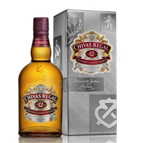 Whisky Chivas Regal 1.000cc , 12 años