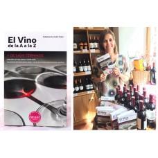 """Libro """"El Vino de la A a la Z"""", de Mariana Martínez"""