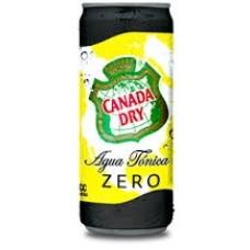 24 Agua Tínica Canada Dry Zero 310 cc ($590 c/u)