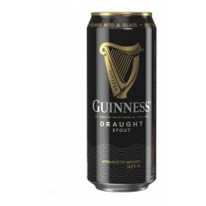 Pack 4 unidades Cerveza Guinness Draught Stout 440 ml