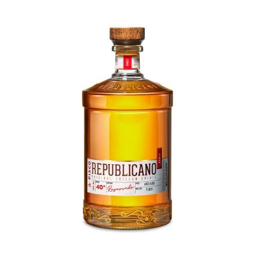 Pisco Republicano Añejado 40°