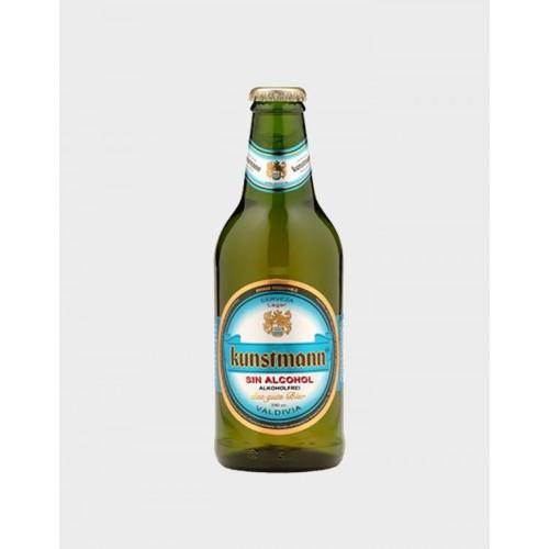 Caja de 6 unidades Cerveza Kunstmann Sin Alcohol  BOT.330  ($1.490 c/u)