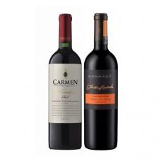 Pack 6 Carmen Wine Maker + 6 Morande Edicion Limitada Carmenere ( $6.990 c/u)
