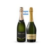 Pack 3 botellas Norton Extra Brut + 3 botellas Undurraga Brut Royal  ($3.990 c/u)