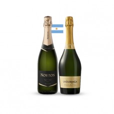 Pack 6 botellas Norton Extra Brut +6 botellas Undurraga Brut Royal  ($3.990 c/u)