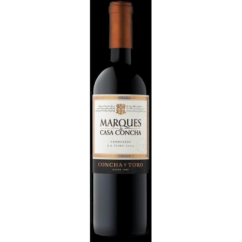 Caja de 6 unidades Marqués Casa Concha Cabernet Sauvignon ($7.990c/u)