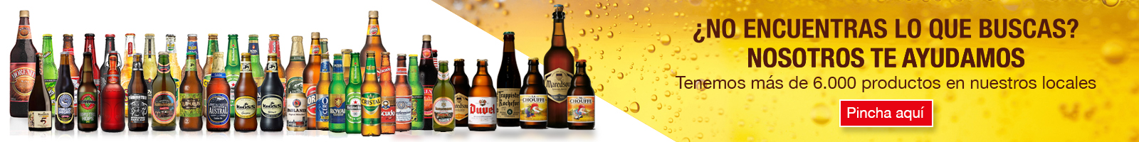 Cervezas/Bebidas