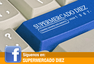 Facebook Supermercado Diez